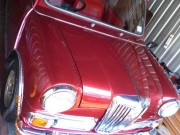 Paint Protection on classic 1969 Riley Elf