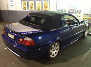 BMW 330 Paint Protection