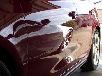 Glare treated VW Gti